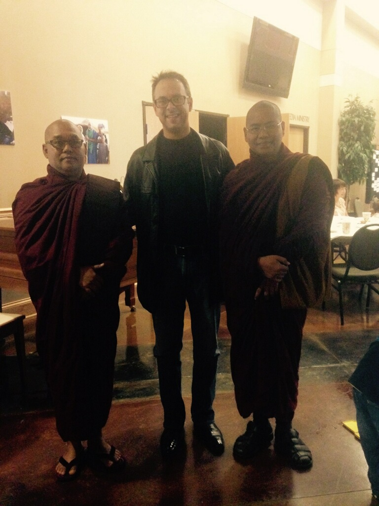 Meeting Buddhist Monks On Christmas